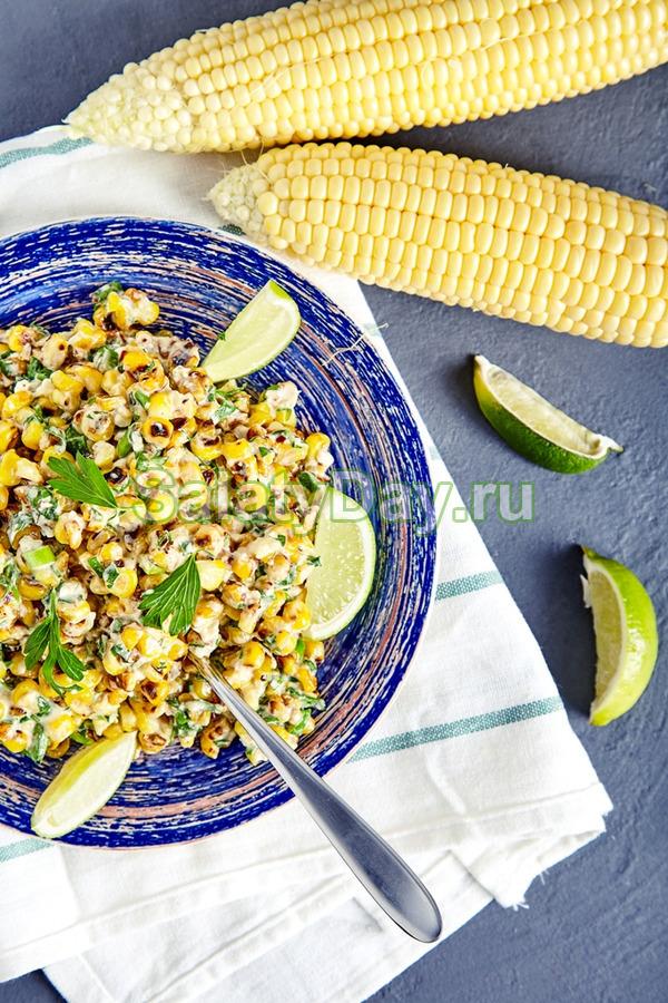 Мексиканский, острый салат