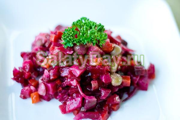 Салат «Винегрет» из Узбекистана