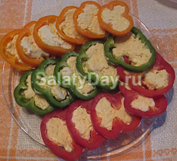 Салат овощной «Светофор»