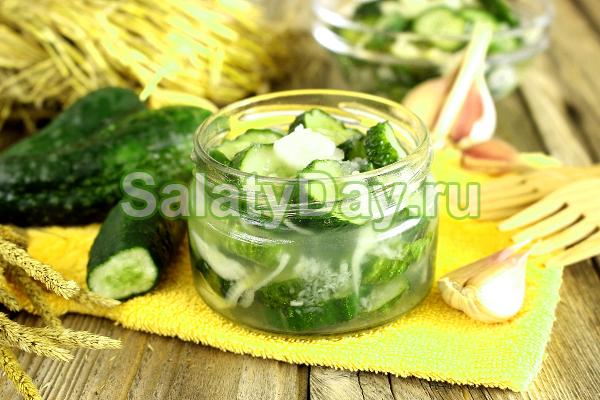 Классический салат Зимний король на зиму