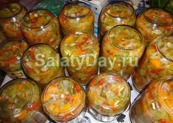 Классический Донской салат на зиму