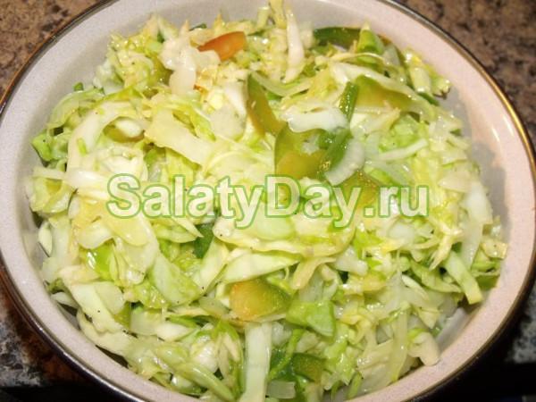 Донской салат на зиму с капустой