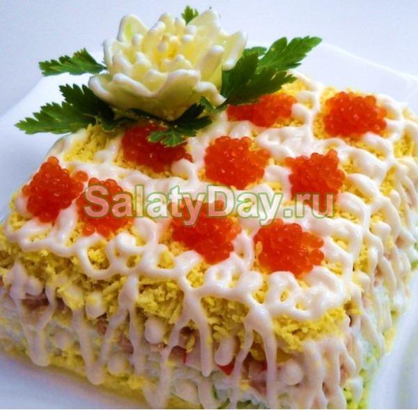 Морской «Царский» салат