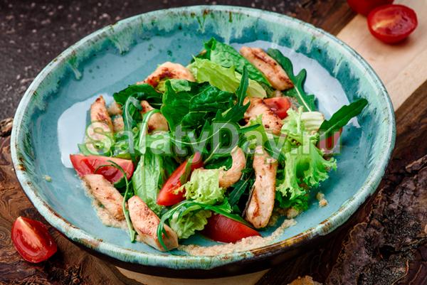 Салат из индейки - классический