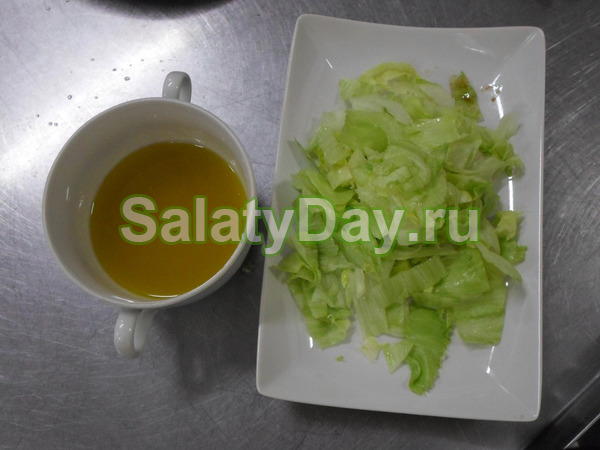 Лимонно-медовый соус для салата