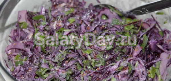 Салат Весенний быстрого приготовления